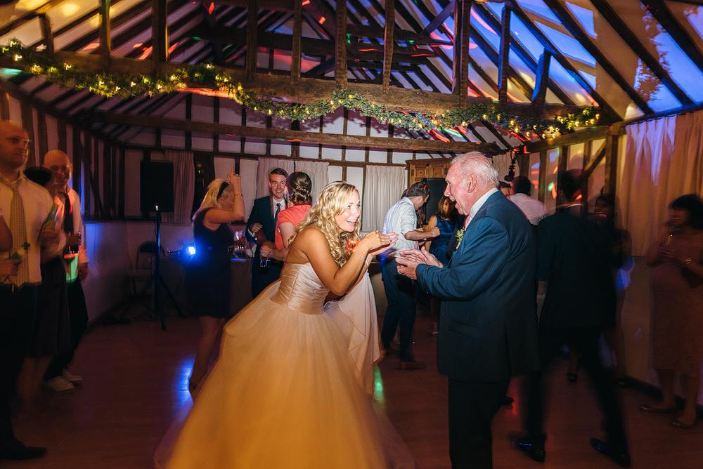 Reid rooms wedding bride dancing with father