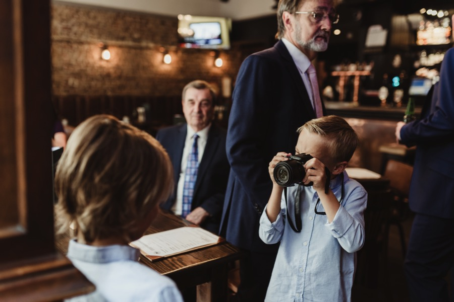 St Barts Pub Smithfield Wedding and Stoke Newington Town Hall Wedding